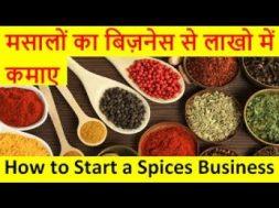 मसलो का बिज़नेस से लाखो में कमाए  How to Start a Spices Business
