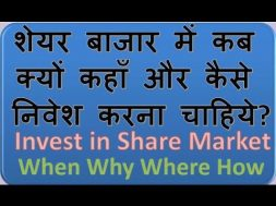How to invest money in shares market