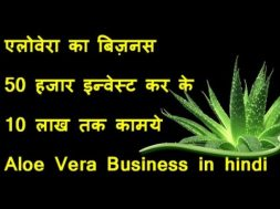 Earn 10 lakh Every year with aloe vera farming and juicer plant | how to use | baba ramdev