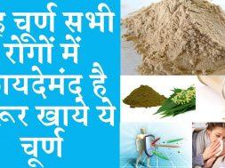 This powder is beneficial in all diseases  यह चूर्ण सभी रोगों में फायदेमंद है