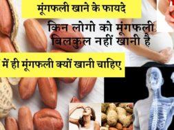 सर्दियों में मूंगफली खाओगे तो होगा बहुत फायदा जाने क्या  Health benefits of eating peanuts during wi