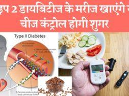टाइप 2 डायबिटीज के मरीज नाश्ते में खाएंगे यह 1 चीज तो कंट्रोल में रहेगी शुगर Diabetes patients eat