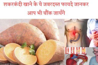 इन सारी बीमारियों से हमें बचाता है शकरकंदी जाने    Sweet potato health benefits