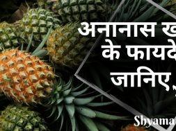 अनानास खाने के फायदे | Benefits of Eating Pineapple | Pineapple Health Benefits