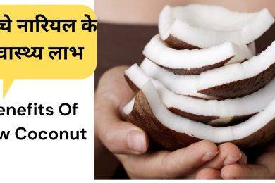 Health benefits of eating coconut  ||  कच्चे नारियल की गिरी खाने के फायदे #Coconut