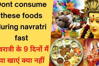नवरात्रि में क्या खाना चाहिए और क्या नहीं    What should be eaten in Navaratri    Navratri Food 2021